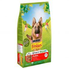 FRISKIES VitaFit Active z govedino 10 kg