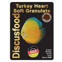 Hrana za diskuse Turkey Heart Soft Granulate 1 mm 80 g