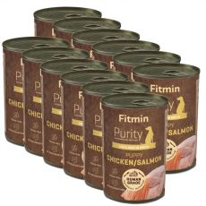 Fitmin Purity Puppy Chicken & Salmon 12 x 400 g