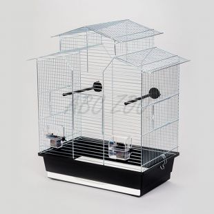 Ptičja kletka IZA II krom - 51 x 30 x 60,5 cm