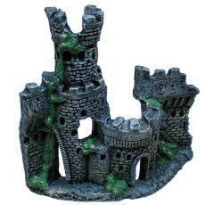 Keramični okras za akvarij - grad s stolpom