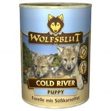 Konzerva Wolfsblut Cold River Puppy 395 g