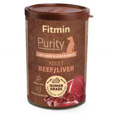 Fitmin Purity Adult Beef / Liver 400 g