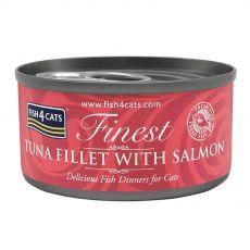 Fish4cats Finest Tuna & Salmon 70 g