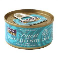 Fish4cats Finest Tuna & Crab 70 g