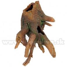Okras za akvarije - korenine z luknjami