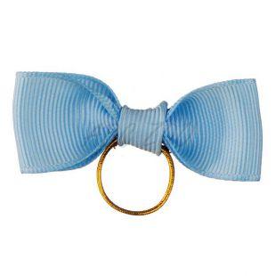 Pentlja za pse - svetlo modra, 6 cm