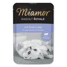 MIAMOR Ragout Kitten s koščki govedine 100 g