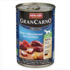 Konzerva GranCarno Fleisch Adult dimljena jegulja + krompir - 400 g