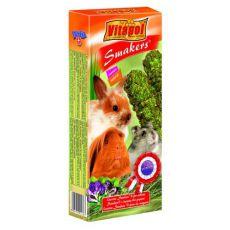 Vitapol Smakers Medick palčke za glodalce 110 g