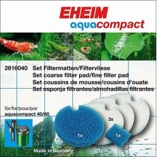 Eheim Aquacompact - set vložkov za filter