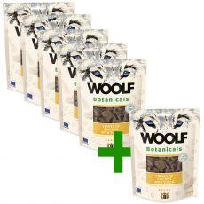 Woolf Botanicals Chicken stripes with yucca 80 g 5+1 BREZPLAČNO