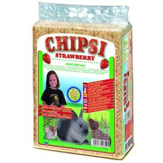CHIPSI STRAWBERRY - stelja z vonjem jagode, 60 L