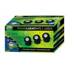 Osvetljava za ribnik NPL1-3LED 3x1,6W
