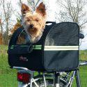 Prenosni pasji boks za kolo Biker – torba 35 x 28 x 29 cm