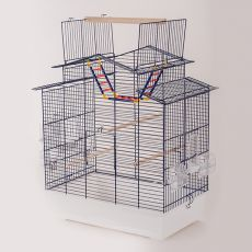 Ptičja kletka IZA III - COBALT - 58,5 x 38,5 x 65 cm