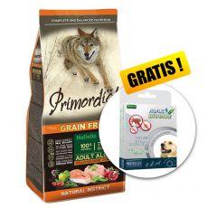 Primordial GF Adult Chicken & Salmon 12kg + DARILO