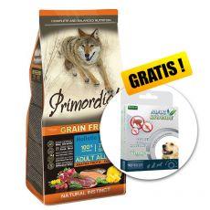 Primordial GF Adult Trout & Duck 12kg + DARILO