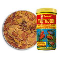 Hrana za vitalnost in barvo rib TROPICAL Vitality colour 1000 ml/200 g