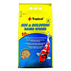 TROPICAL Koi Goldfish ribja hrana 10L