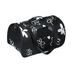 Transportni boks za pse in mačke - črn, 51 x 26 x 29 cm