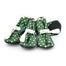 Pikasti pasji čevlji, zeleni – velikost 3