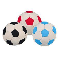 Žoga za psa - nogometna, 11 cm