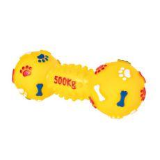 Igrača za psa - ročka iz vinila, 19 cm