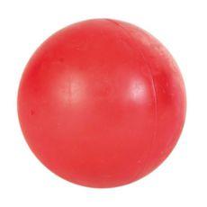 Težka žoga za psa - trda guma, 7 cm