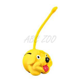 Žoga z repom za psa - žival iz lateksa, 6 cm