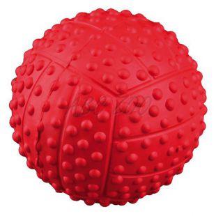Žoga za psa - piskajoča, gumijasta, 5,5 cm
