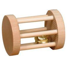 Igrača za glodalce - valj z zvončkom, 3,5 x 5 cm