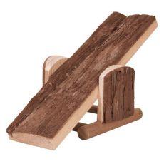 Gugalnica za glodalce - lesena, 22 x 7 x 8 cm