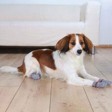 Nogavice za pse - nedrseče, 2 kosa, S-M