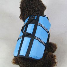 Rešilni jopič za pse – moder, XS