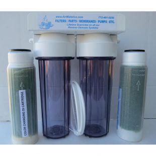 Filter za odstranjevanje NO3, PO4, SiO2 – nameščen za reverzno osmozo