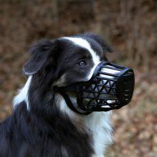 Plastični nagobčnik za psa - velikost M, 20 cm
