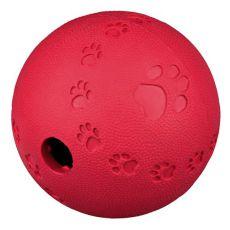 Žoga za pse iz naravne gume, 9 cm