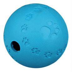 Žoga za pse iz naravne gume, 7 cm