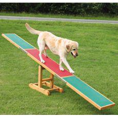 Agility ovira za pse, gugalnica 300x34x54cm