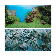 3D-ozadje za akvarije AMANO/ROCK L - 100 x 50 cm