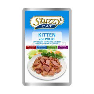Stuzzy cat koščki za mladiče - perutnina, 100 g