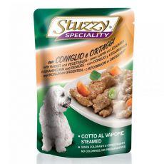 Stuzzy Speciality Dog - zajec z zelenjavo, 100 g
