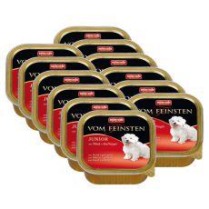 Pašteta ANIMONDA Junior - govedina + piščančje meso, 12 x 150 g