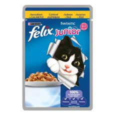 Felix Junior - piščanec v želeju 100 g