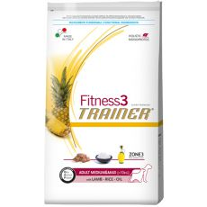 Trainer Fitness3 Adult MEDIUM MAXI - jagnjetina in riž, 12,5 kg