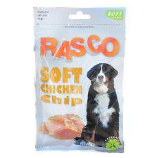 RASCO pasji priboljški – mehki čips iz piščanca, 80 g