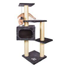 Mačji praskalnik PALAMOS - pliš, 109 cm