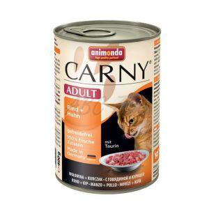 Hrana CARNY ADULT govedina in perutnina - 400 g