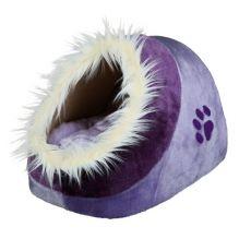 Plišasta postelja Minou za pse in mačke - 35 x 26 x 41 cm